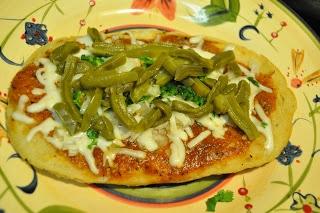 Huaraches mexican pizzas.