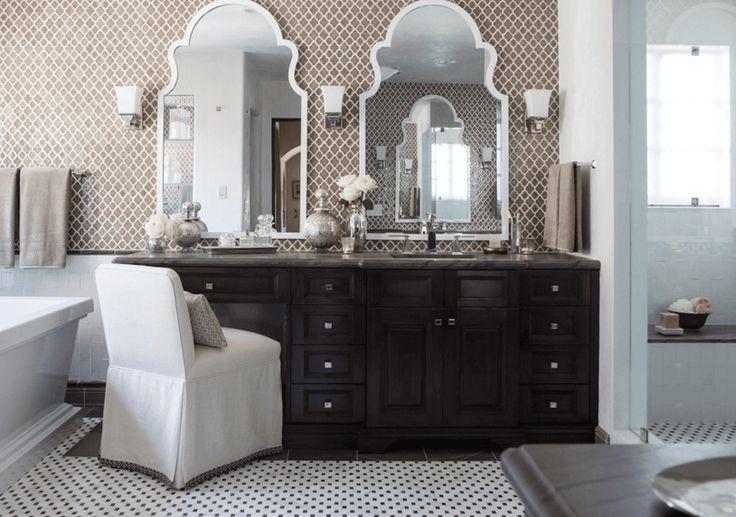 victorian bathroom mirrors ideas