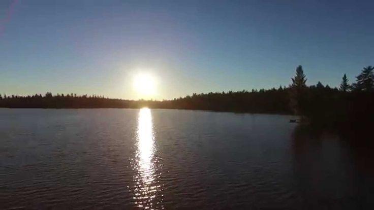 Drone Flight in Northern Ontario