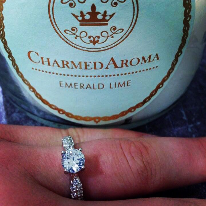 Check out this gorgeous ring found in Charmed Aroma candles! $25/ candle with ring surprise from $10-$5000.
