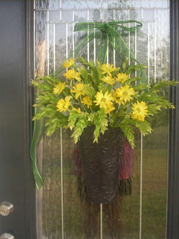 front door hangings504 best ADoorable Wreath Ideas images on Pinterest  Spring