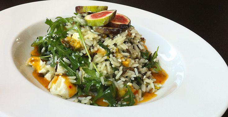 Culy Homemade: wilde rijstsalade met geitenkaas