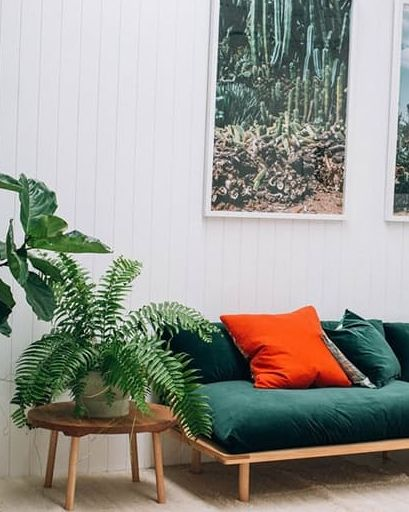 15 beautiful dark green sofas you need for your living room.