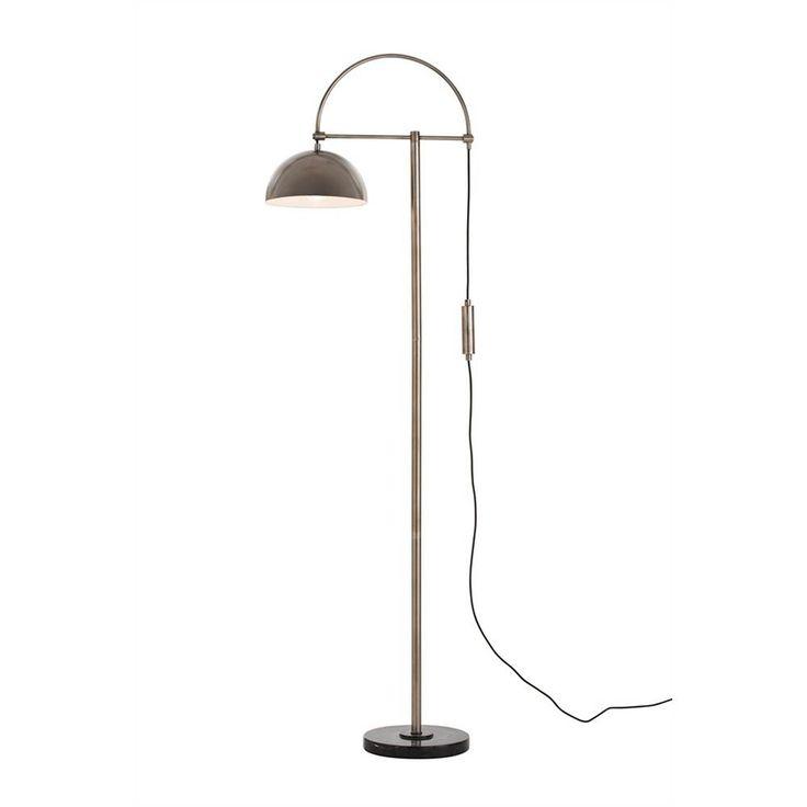 Arteriors Home Lighting Arteriors Home Lighting Jillian Vintage Silver / White Floor Lamp 79991