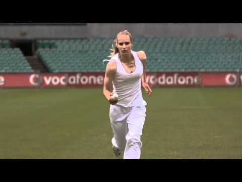 I think we all know who Ellyse Perry is by now, arguably the best female athlete in the country and certainly one of the most versatile. She's put away the football boots for the time being to focus on the Southern Stars' campaign against the White Ferns of New Zealand for the next couple of months.