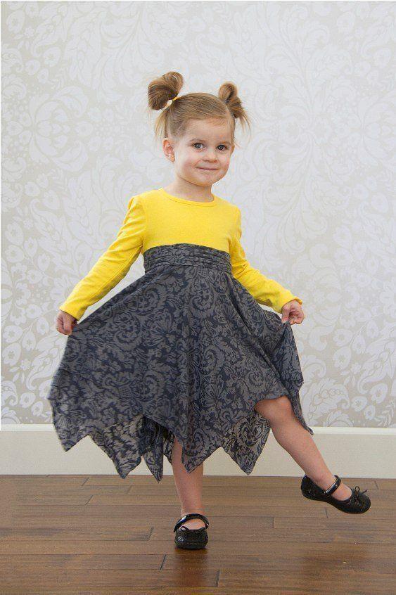 Шьем платье для девочки за час! » Женский Мир