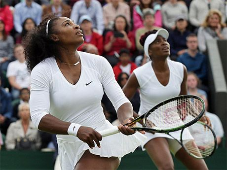Serena williams tennis tips for doubles