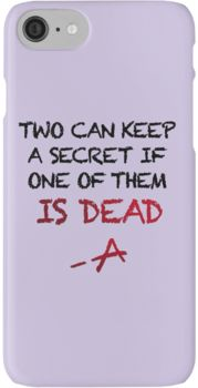 PLL Theme Song (Pretty Little Liars) iPhone 7 Cases