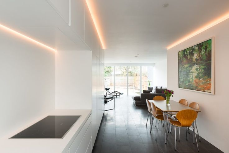 This five-bedroom semi-detached sustainable house with rear garden is well-positioned on a quiet residential street in East Finchley. Measuring approx. 2,379sqft internally, the house was designed by Jennifer Beningfield of Openstudio Architects and completed in 2016. The house has been designed in accordance with passive sustainable principles to minimise the building's energy requirements. The striking […]