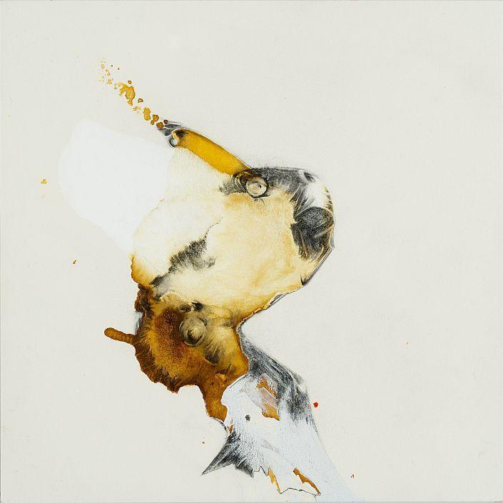 Beatrice Richter:  Abstract Animal # 12. Tusche und Graphit auf Papier. #Zeichnung #Urtier #Phantasiegestalt #intuitivesZeichnen #Tier #Abstraktion #startyourart #beatricerichter www.startyourart.de