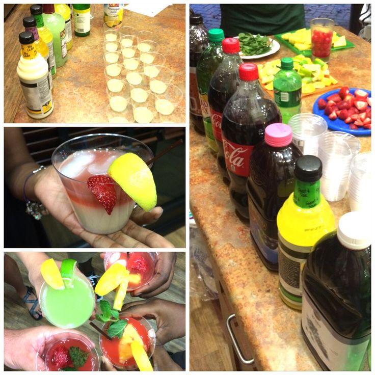 "Alcohol Awareness program! ""100 Proof Spoof"" Have a mock mixed drink competition! Get everything for making mixed drinks besides the alcohol (obviously) and let the residents mix there own drinks. CA's decide the winner! Can also have root beer pong and drunk texting competition with drunk goggles at the program. This was my first program and was a big hit! #ca #ra #reslife"
