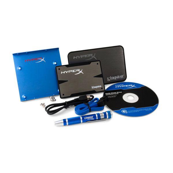 """Disco Duro SSD 240GB Kingston HyperX 3K 2.5"""" (Adapt);  Los seguidores y fanáticos de los juegos que están más preocupados por su bolsillo se beneficiarán del precio reducido del nuevo HyperX® 3K SSD de Kingston... En   http://www.opirata.com/disco-duro-240gb-kingston-hyperx-adapt-p-23226.html"""