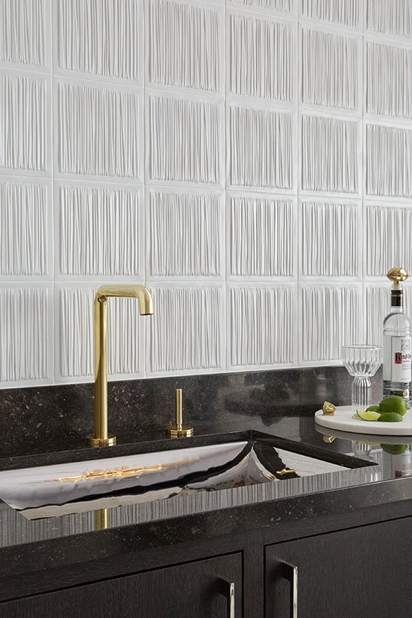 The One Kitchen Faucet In Unlacquered Brass Brings A Sleek And