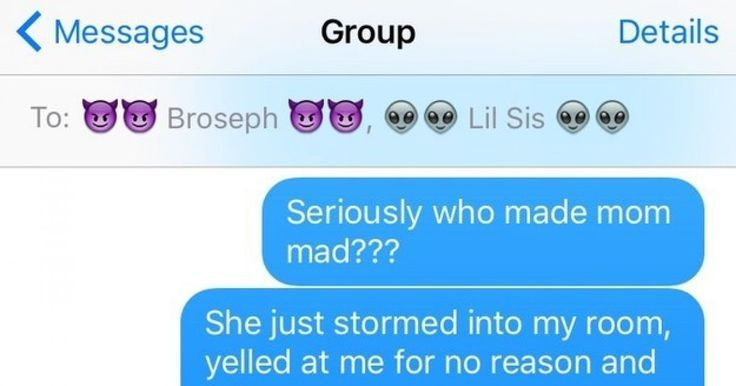 Ridiculous Texts All Siblings Have Sent To Each Other #Siblings #Funny #humor http://ibeebz.com
