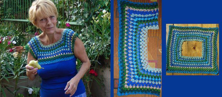 top with crochet