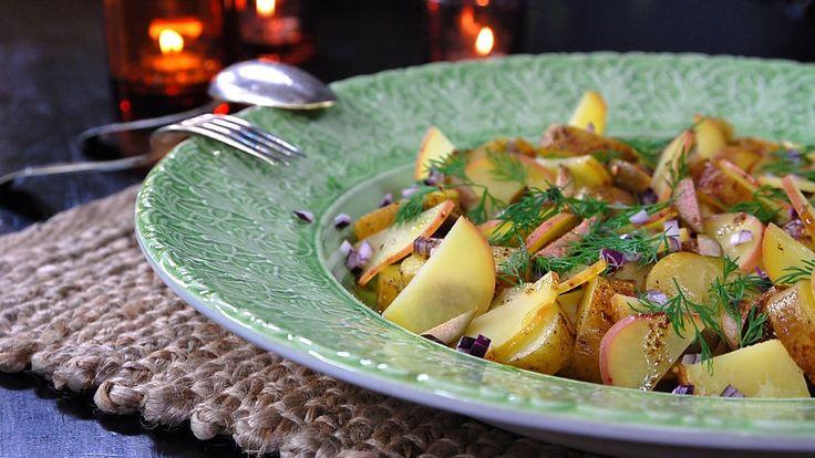 Poteter er ikke bare poteter. I Finland selges mer enn 40 sorter poteter, og mange flere dyrkes i kjøkkenhager. I denne oppskriften tar vi vare på de forskjellige sortenes styrke og smak.