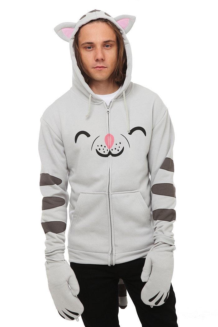 Hoodie with cat ears