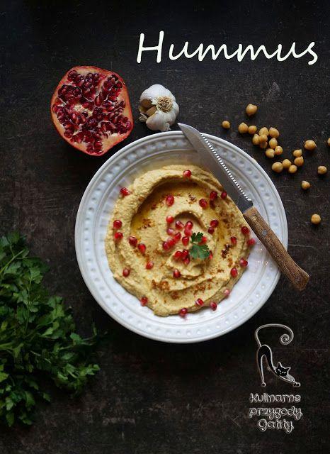 Kulinarne przygody Gatity: Hummus, pasta z cieciorki (ciecierzycy)