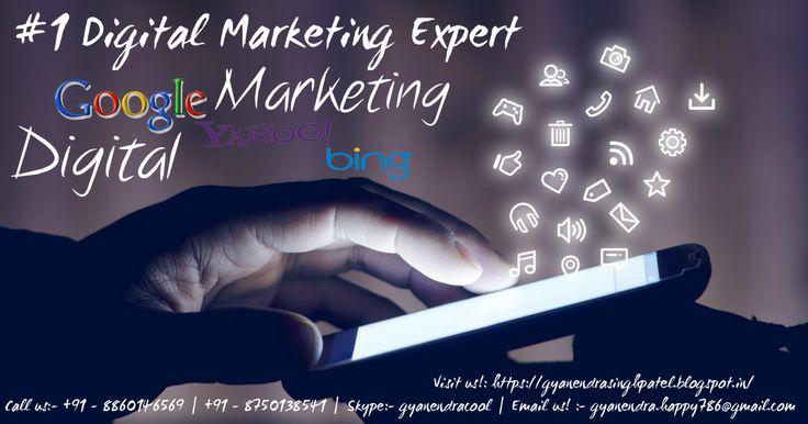 #1 Digital Marketing Expert: [SEO: Search Engine Optimization   Search Engine Promotion   Search Engine Marketing] [SMO: Social Media Optimization   Social Media Promotion   Social Media Marketing] [PPC: Pay Per Click] [Email Marketing] [SMS Marketing] [lead Generation] [Google AdSense].