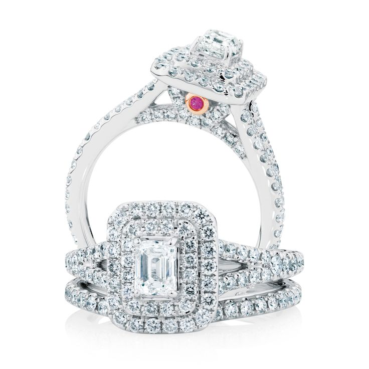 the michael hill designer bridal collection emerald cut