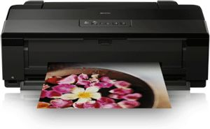 Epson 1500W Stylus A3+ Printer  Cartridge costs are pricey at £69 for best quality. Yield seems to be about 50 full colour.