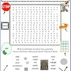 ELEMENTARY GEOMETRY WORD SEARZH PUZZLE * 20 basic geometric terms students will eventually have to know. Give them a head start. They will enjoy searching for these 20 words – educational and challenging. Age-appropriate puzzle, not too big, not too small. Kids LOVE these word search puzzles and know how to use them. You do too! Great filler activity for your math centers, before school work etc. GEOMETRY WORD SEARCH PUZZLE!