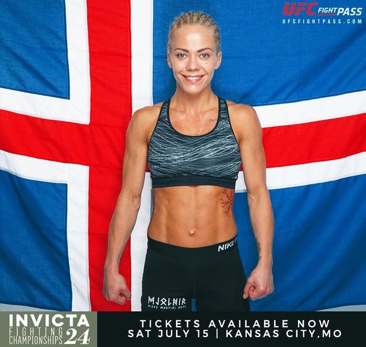 """Can't wait to see Sunna """"Tsunami"""" Davidsdottir @sunnatsunami fight at #InvictaFC24. She's facing Kelly D'Angelo @kellyadangelo in a #strawweight matchup and both #fighters are on winning streaks. Who's going to take the W and who will crash and burn?  Don't miss this and all the fights on the card at Invicta FC 24 Saturday 7/15 at 8pm ET on UFC Fight Pass.  For the latest #MMA news make sure to follow me: http://ift.tt/1FVexze  http://ift.tt/2u6BTqc http://ift.tt/2v5ztp8  #Invicta #InvictaFC…"""