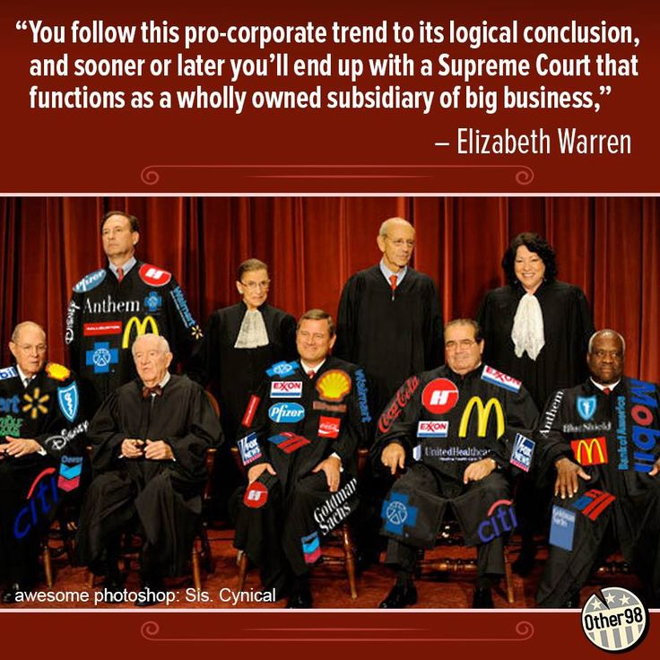 DISGUSTING CORRUPT PAID PUPPET SUPREME COURT JUSTICES!! Clarence Thomas on the far right should have MONSANTO tattoo'd on his forehead... Notice, four have not been bought and of the four, two are the only women.