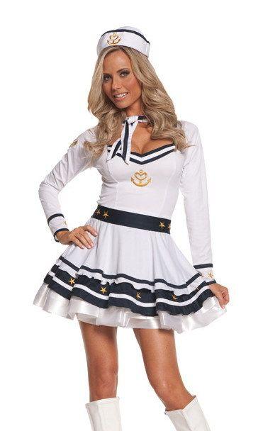 Partique - Anchors Away Sexy Sailor Womens Adult Womens Costume, $46.99 (http://www.partique.com.au/anchors-away-sexy-sailor-womens-adult-womens-costume/)
