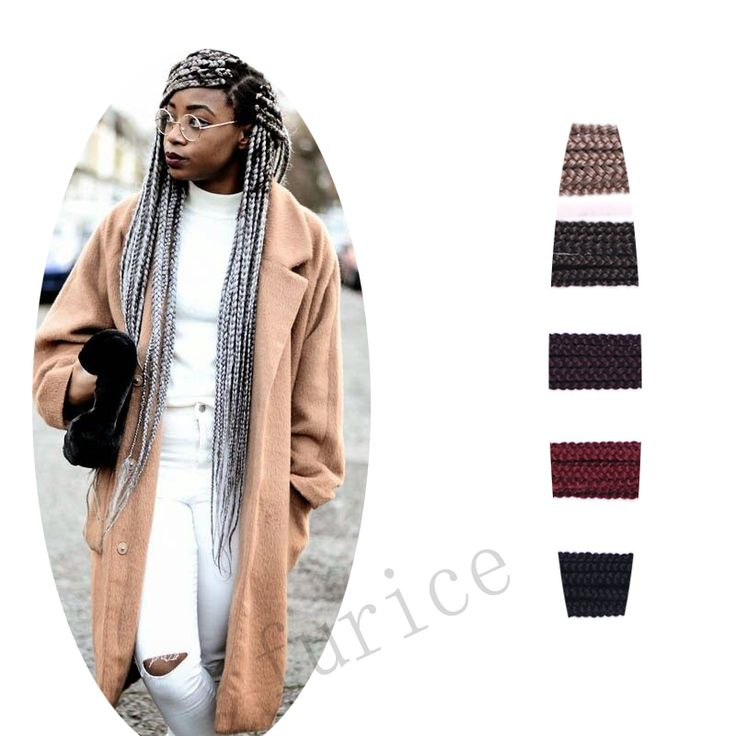 Aliexpress.com : Buy Bounce Synthetic Hair Extension Free Gift Crochet 3x Box Braid Curly Crochet Hair Braids Afro Hair Extension Box Braids Styles from Reliable braid products suppliers on crochet braiding hair extension Store