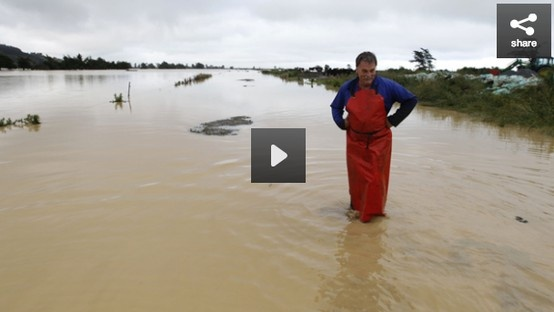 Nelson dairy farmers are counting the cost as flood waters sit on pasture and they rapidly run low on feed.