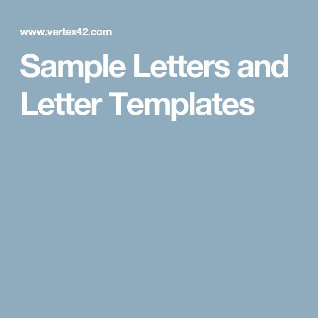 Přes 1000 nápadů na téma Business Letter Template na Pinterestu - free business letter template