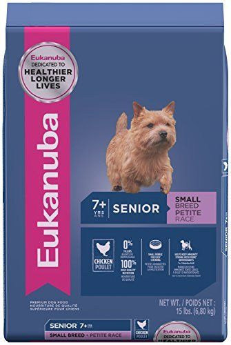 EUKANUBA Senior Small Breed Dog Food 15 Pounds by Eukanuba Dry Dog Food -- You can get more details by clicking on the image.