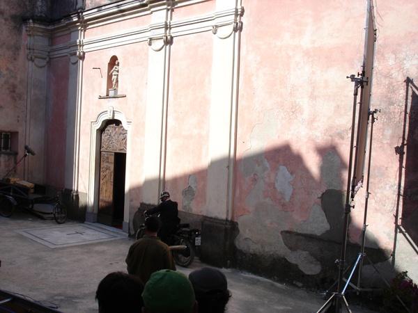 Backstage la Chiesa