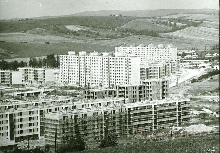 1974. Eger, Csebokszári városrész (Fotó: Molnár István)