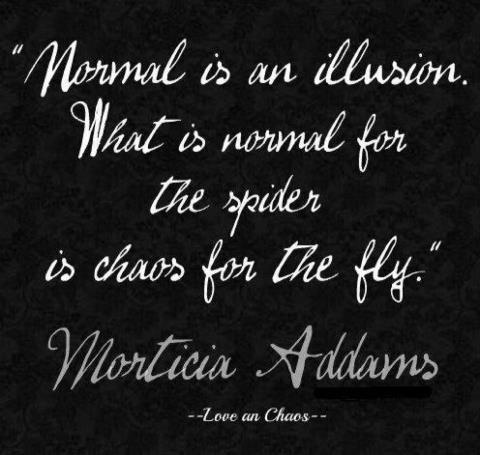 .Thoughts, Inspiration, Morticia Adam, Quotes, Morticia Addams, Normal, Wisdom, Illusions, Things