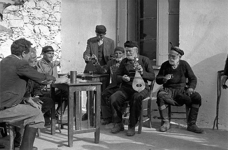 Κρήτη 1955 φωτογραφία Erich Lessing. από: ΧΑΝΙΑ παλιές φωτογραφίες