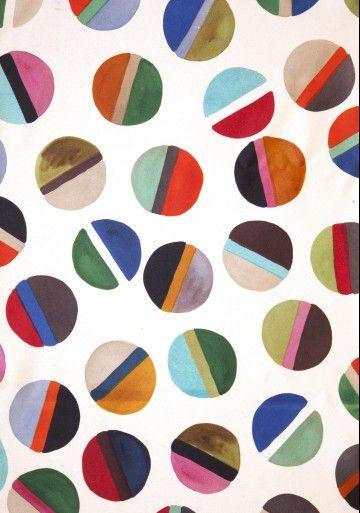 luli sanchezLuli Sanchez, Art Paintings, Painting Art, Abstract Art, Kid Art, Textiles Design, Dots Pattern, Textile Prints, Textile Design