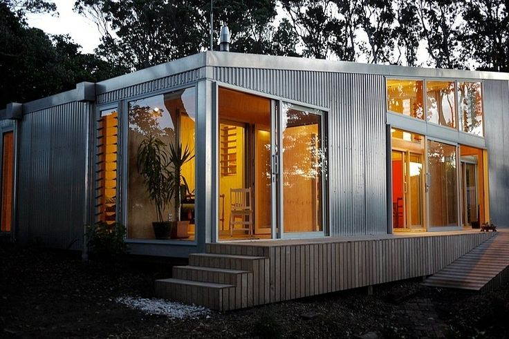 Lloyd Holiday House by Bonnifait   Giesen [LOVE the external cladding on this place. I believe it is corrugated metal. Right?]