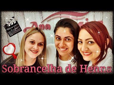 #Aplicação De Henna Na Sobrancelha Passo A Passo Com Molde Com Ana Design.