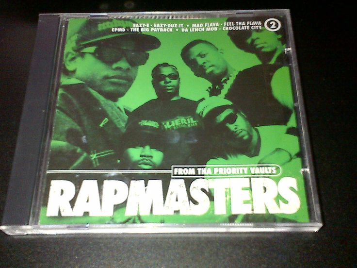 Rapmasters Vol 2 ft Ice Cube NWA EPMD Nice & Smooth Hip Hop Golden Era CD