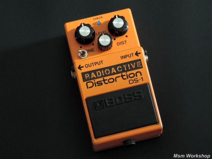 """Boss DS-1 modifiée """"Radioactive"""", par Msm workshop"""