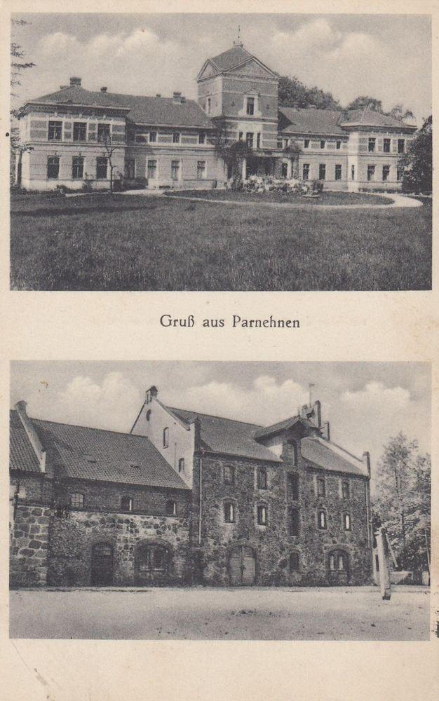 Parnehnen Kr. Wehlau / Ostpreußen Posthilfsstelle   1934