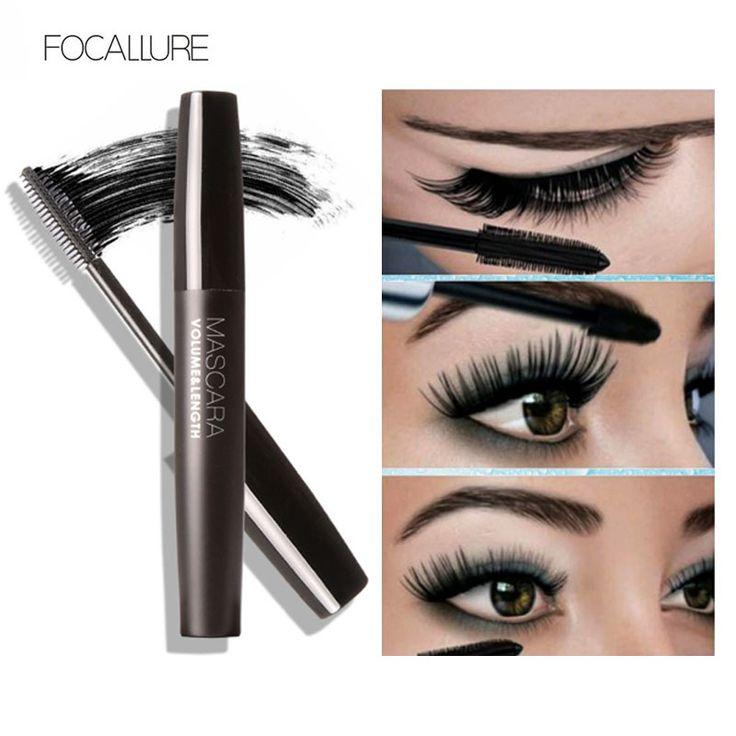 المهنية حجم مجعد جلدة lengtheing mascare علامة للماء الشباك رمش العين ماكياج الماسكارا السوداء بواسطة focallure