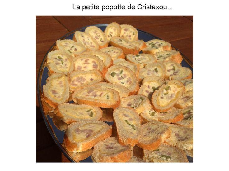 Baguette surprise pour l'apero