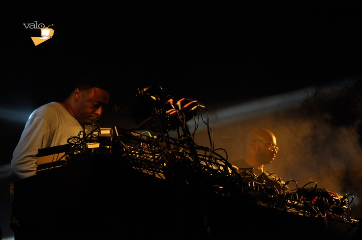 Octave One is a group of American Techno musicians formed by siblings Lenny Burden and Lawrence Burden. Strøm presented Octave One on Friday 24th 2012  in Copenhagen's Enghaveparken. An unforgettable live music experience. #OctaveOne #stroem #valotv #valo #live #music #enghaveparken #culture #festival #techno