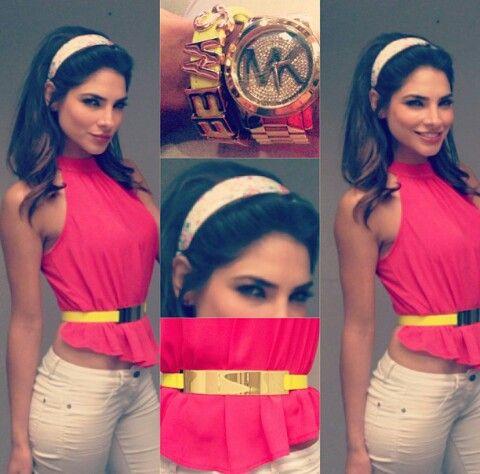 Alejandra Espinoza Style. #OUTFIT
