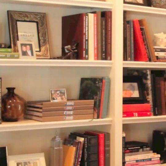 how to decorate with books even if you dont have a bookcase - Bookshelf Decor