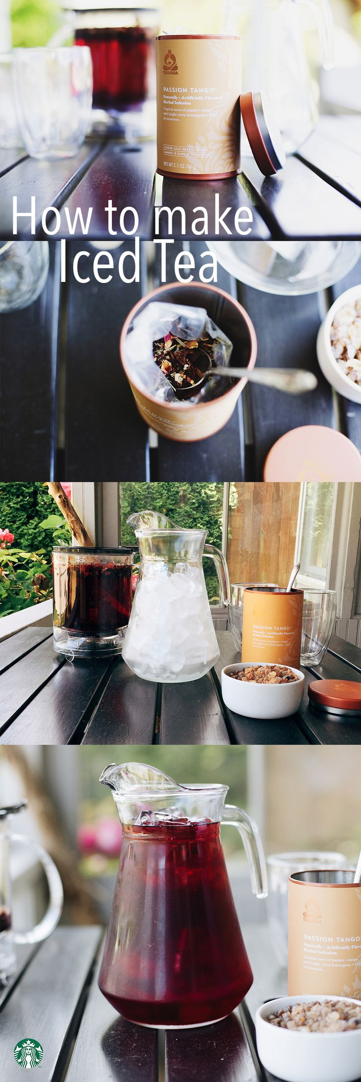 How to make Teavana Passion Tango iced tea at home: The only difference between…