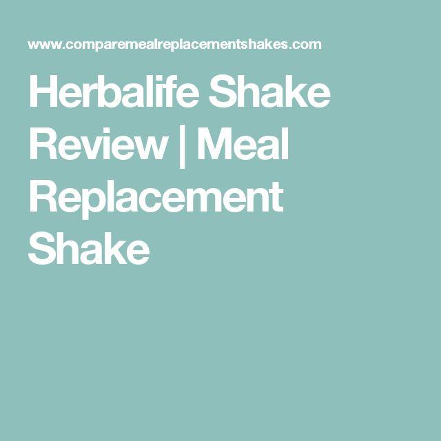Herbalife Shake Review   Meal Replacement Shake